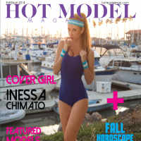 Hot Model Mag Cover