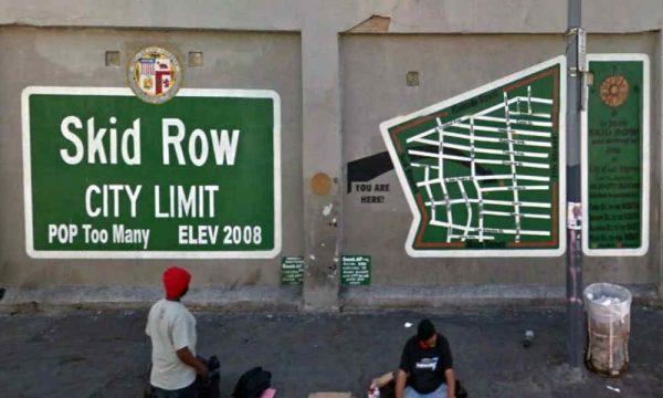 Skid row city limit