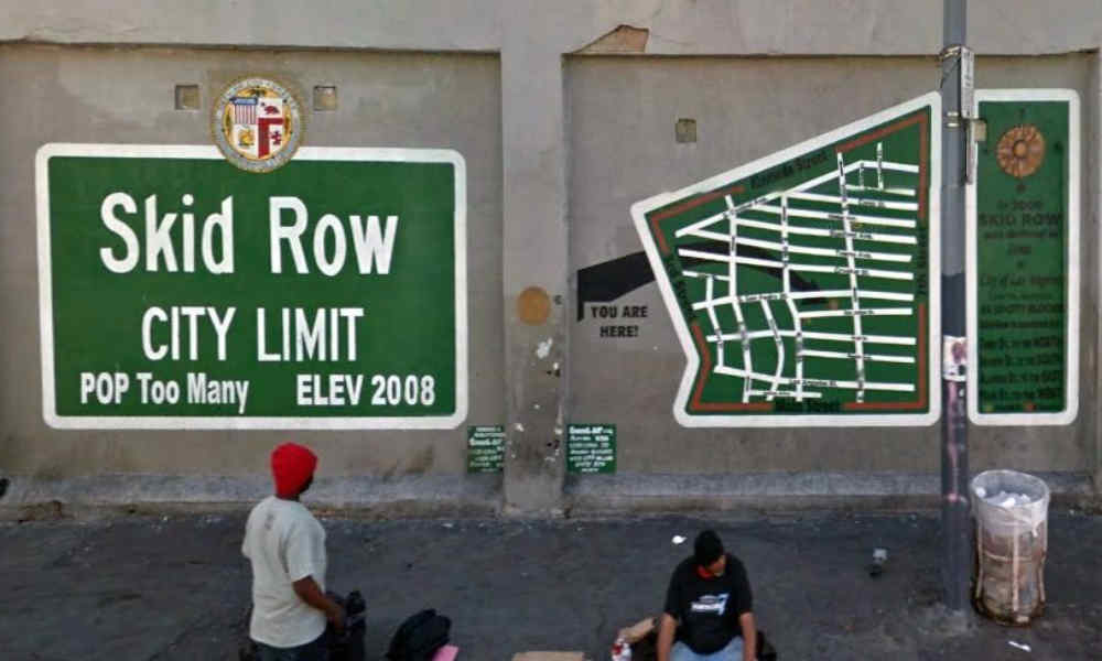 Skid row city limit